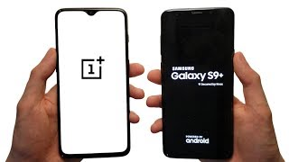 OnePlus 6T vs Samsung Galaxy S9+ Speed Test & Speakers!