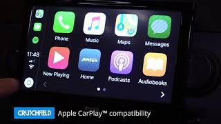 Jensen VX7014 Display and Controls Demo | Crutchfield Video