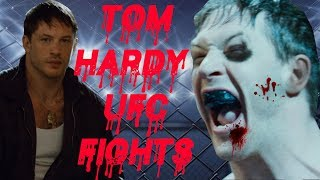 Tom Hardy's Brutal UFC fights | Warrior 2011