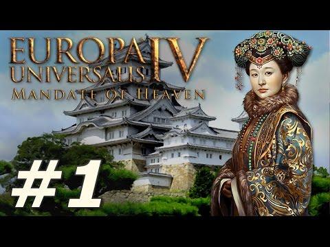 Europa Universalis IV: Mandate of Heaven | Japan - Part 1