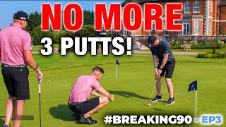 One Drill That Will Change Your Putting Forever | #Breaking90 Ep3 | ME AND MY GOLF