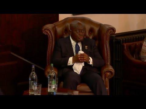 President of Ghana 2017 Address + Q&A   Cambridge Union
