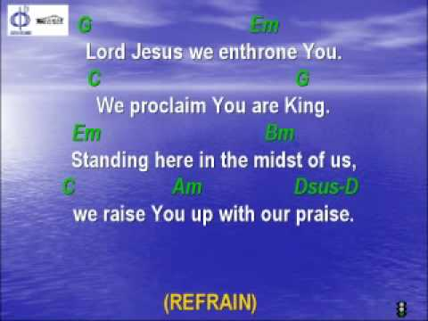 CFC EDMONTON - CLP SONG - LORD JESUS, WE ENTHRONE YOU with lyrics