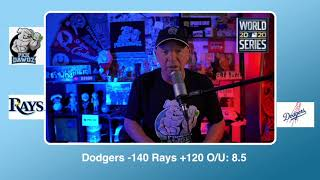 Los Angeles Dodgers vs Tampa Bay Rays Free Pick 10/27/20 World Series Game 6 Pick & Prediction MLB
