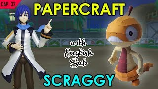 CÓMO HACER PAPERCRAFT – SCRAGGY (WITH ENG. SUB)