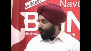TorontoTV-South Asian Outlook -Nadeepbains Interview -20060109