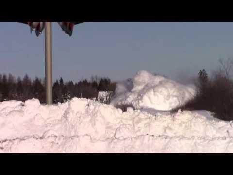 Train Dashing Thru The Snow, Feb 3 2015