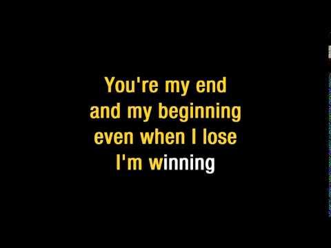John Legend  All Of Me  Karaoke