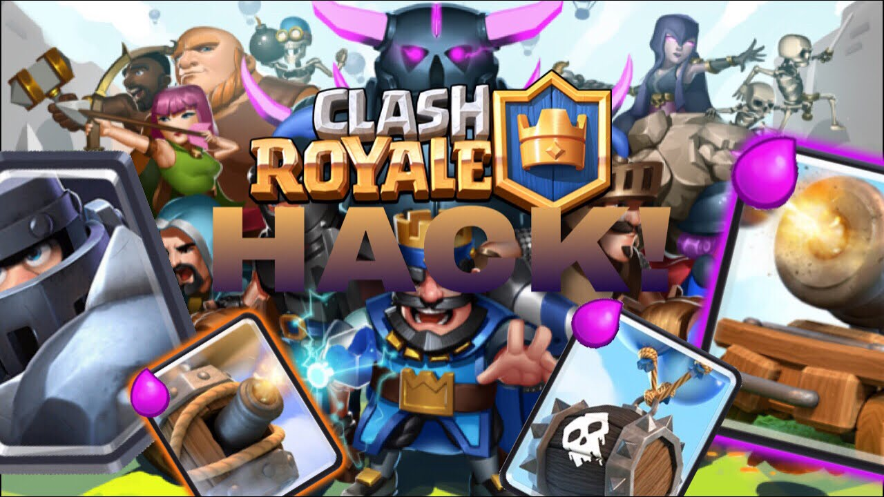 CLASH ROYALE PRIVATE SERVER HACK! (Mega Knight,Flying ...