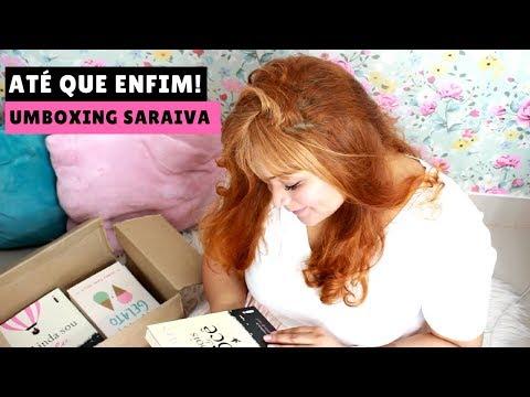 UMBOXING de 50% de Desconto! | Dia da Mulher Saraiva (CHEGOU)!!  🙌🏻// Matilda Natália