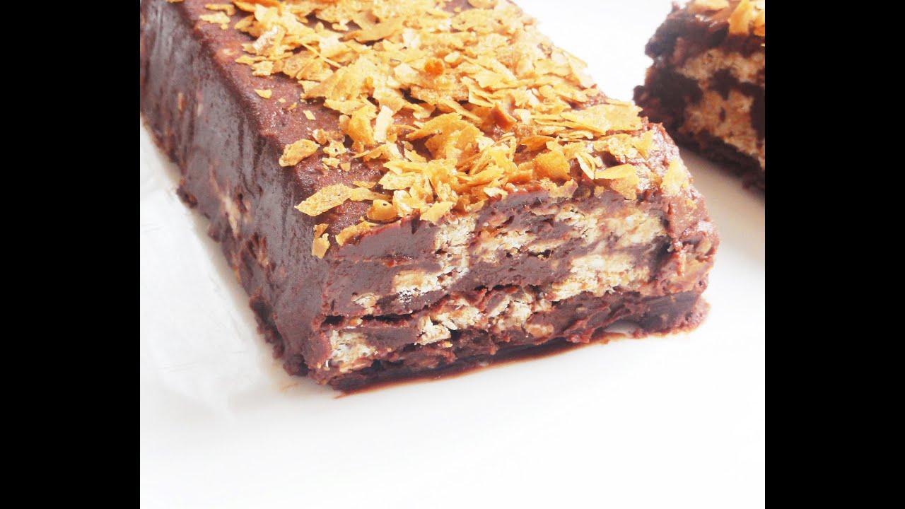 terrine au chocolat sans cuisson croustillant chocolat blanc youtube. Black Bedroom Furniture Sets. Home Design Ideas