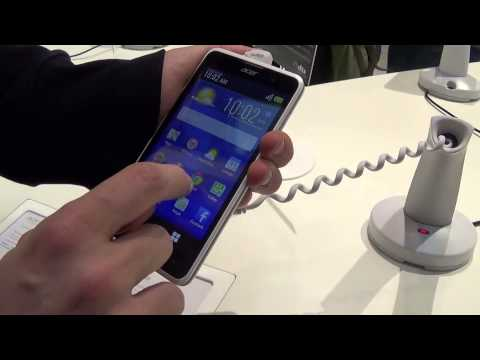 Acer Liquid Z520 - Video Preview MWC 2015 - MobileOS.it