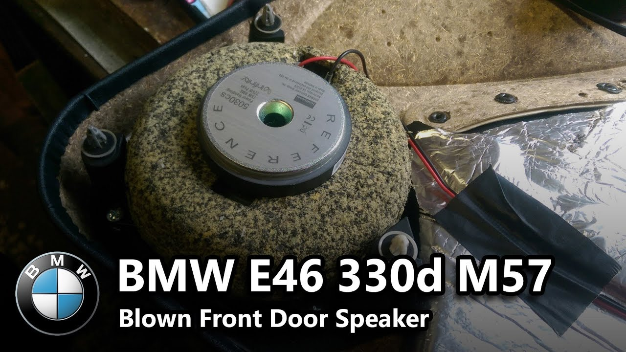 small resolution of  fixed 2002 bmw e46 330d crackling speakers possible bm54 amp failure