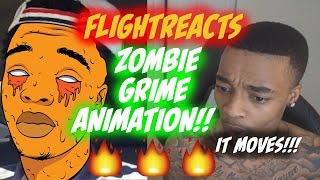 FlightReacts - Zombie-Dreck-Animation!!! Es Wirklich Verschieben !!!- Ai Tutorial // speed art