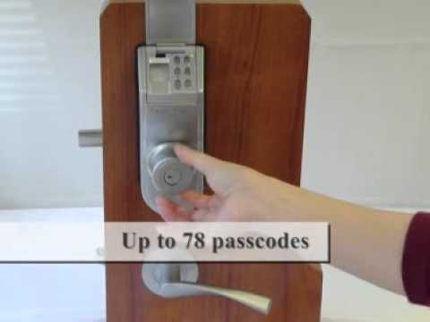 ITouchless Stainless Steel Bio Matic Fingerprint Deadbolt Door Lock.flv