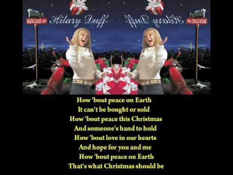 Hilary Duff - What Christmas Should Be (Lyrics)