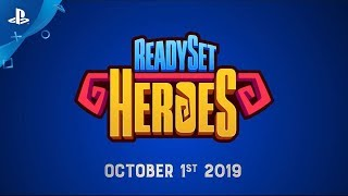 ReadySet Heroes - Release Date Announce | PS4