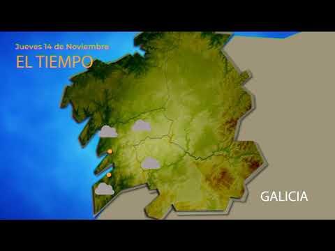 El tiempo en Ourense para el 14 de noviembre