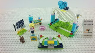 41330 LEGO® Friends Stephanie´s Soccer Practice Speed Build Review 4K by Brickmanuals
