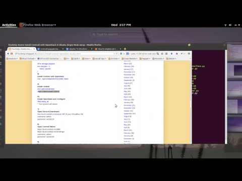 Install OpenStack with Contrail In Ubuntu