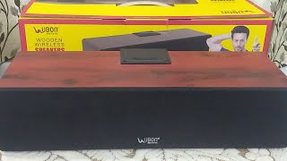 Ubon Wooden Wireless Speaker GBT-280 : Feature and Quick Review