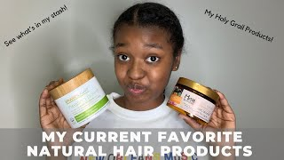 My Favorite Natural Hair Products | High Porosity Hair