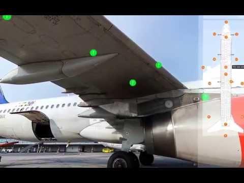 Virtual Pre Flight Inspection training for flight crew