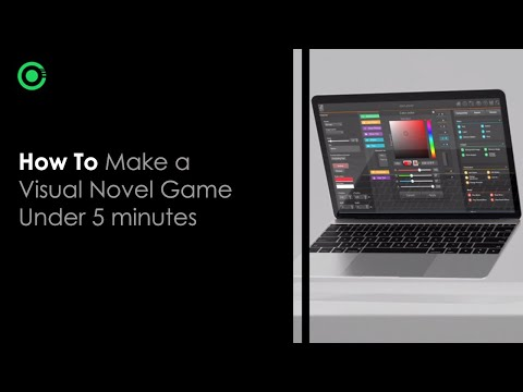 How to make a visual novel game under 5 minutes using Reebyte