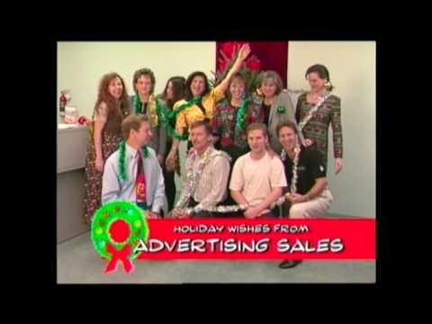 Time Warner Communications Christmas Greetings 1995