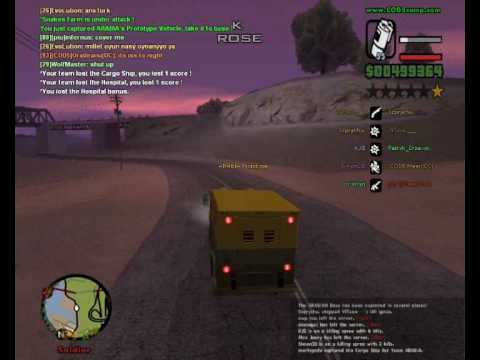 GTA San Andreas Multiplayer Gameplay