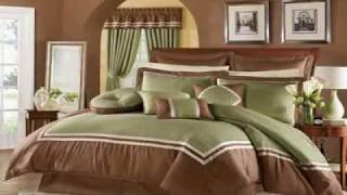 Throw pillows for bed decorating Bedroom designs for couples