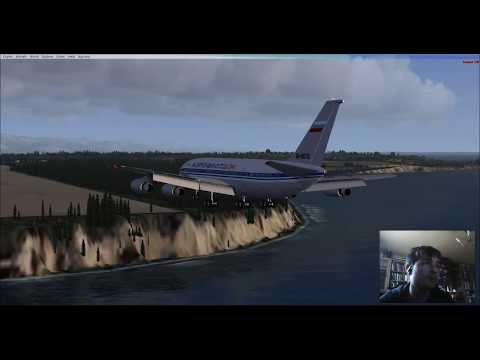 FSX: Moscow to Anchorage with an Il-86