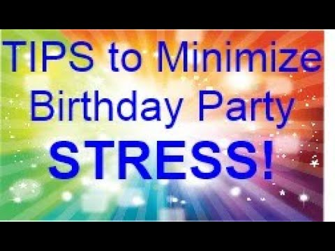 Party Hints for busy people