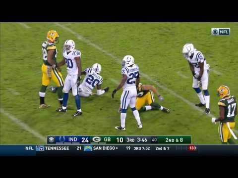 Packers 2016   Week 9 vs Colts   Regular Season