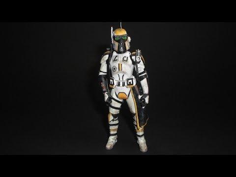 Military Police Clone Trooper Custom Action Figure