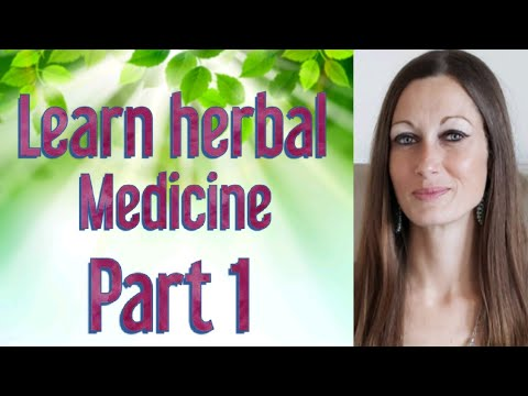 LEARN THE BASICS OF HERBAL MEDICINE