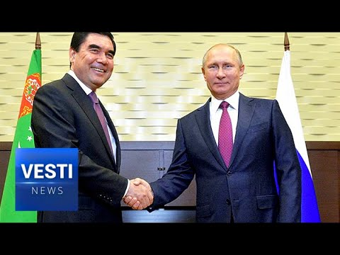 Putin Forges Strategic Partnership with Turkmenistan