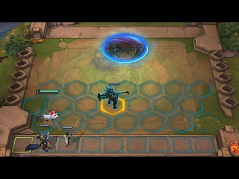 OFFICIAL LEAGUE OF LEGENDS AUTO CHESS! Teamfight Tactics New Gamemode