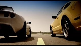 Lotus Exige vs Ford Mustang (HQ) - Top Gear - BBC
