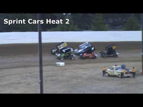 Grays Harbor Raceway, August 27, 2016, Sprint Cars Heat Races 1 and 2