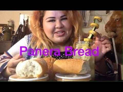 PANERA BREAD/ MUKBANG