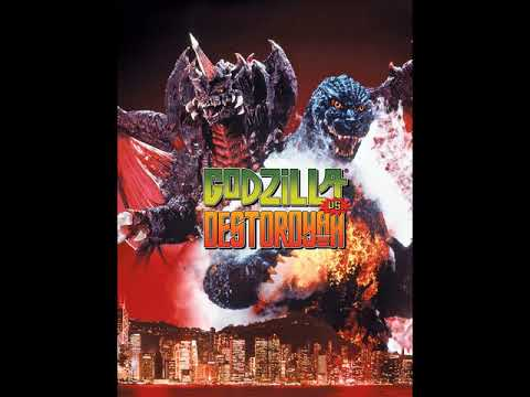37 Godzilla Vs Destoroyah 1995 Ost Godzilla Vs Destoroyah I/III
