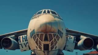 ОАЭ Заброшенный советский самолет ИЛ-76