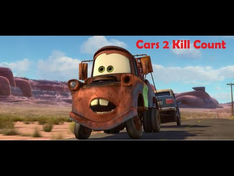 cars 2 kill count youtube. Black Bedroom Furniture Sets. Home Design Ideas