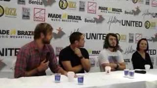 Hillsong United @ Porto Alegre - Coletiva de imprensa