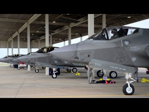 F-35 Taxi – Joint Base Langley-Eustis
