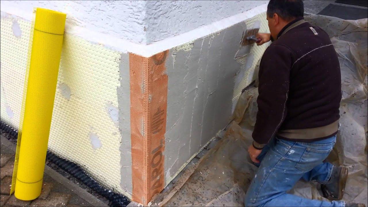 Super Vollwärmeschutz verspachteln - YouTube QI82