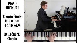 Chopin Etude in F minor, Op.10 No.9 Tutorial - ProPractice by Josh Wright