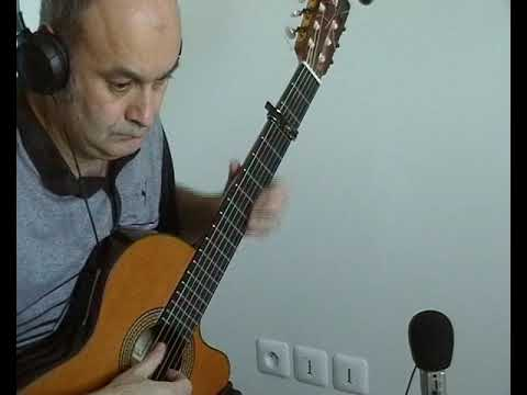 La Langue De Chez Nous (Yves DUTEIL) à La Guitare Classique