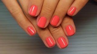 Дизайн ногтей гель-лак shellac - Покрытие Sehllac (видео уроки дизайна ногтей)
